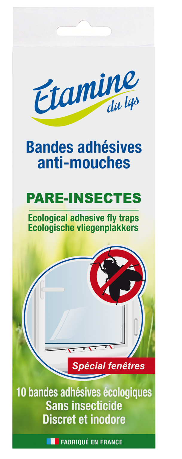 Bandes adh sives anti mouches pare insectes for Anti mouches maison